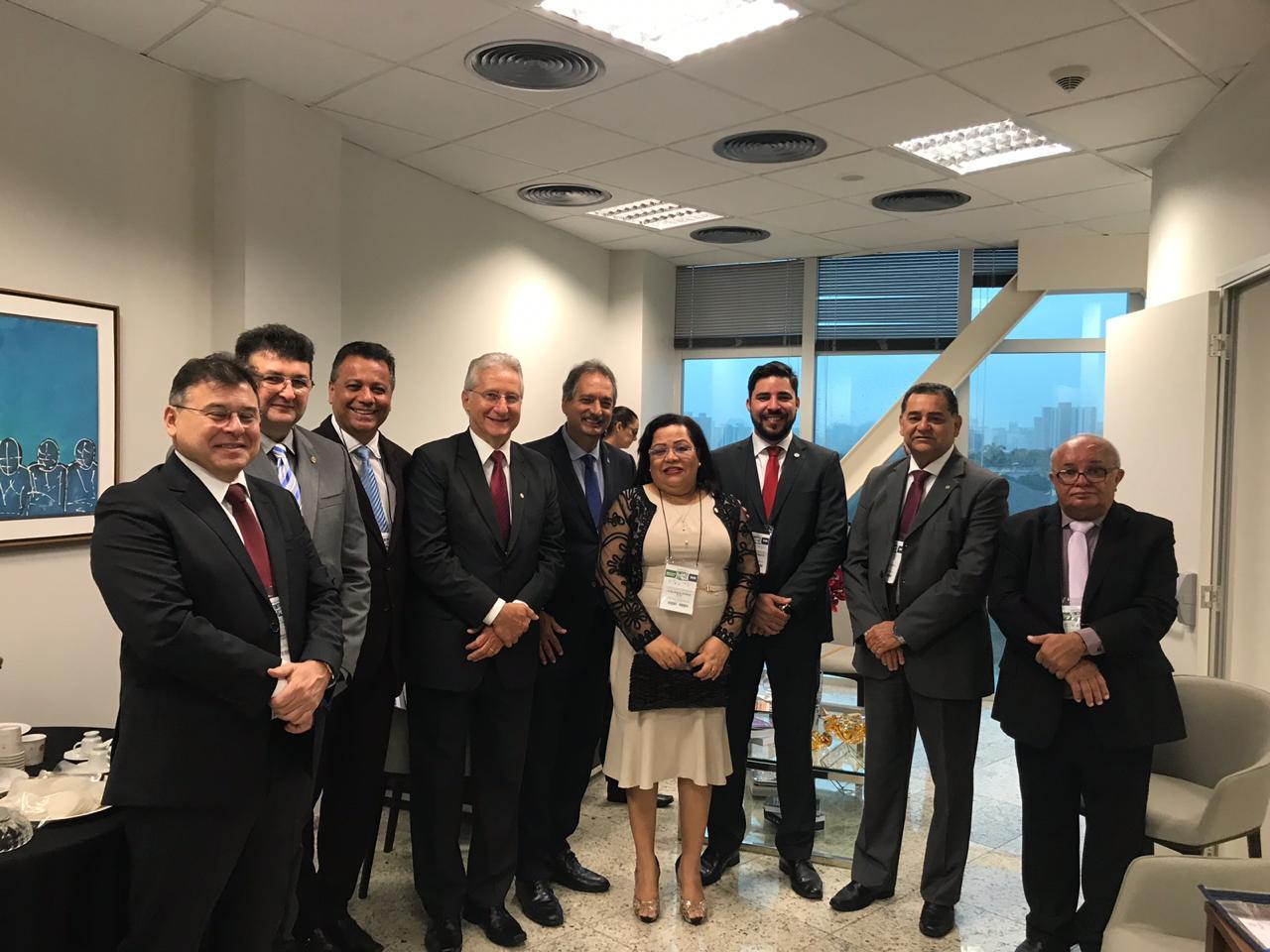Presidentes, diretores e assessores jurídicos da região Nordeste reúnem-se em Fortaleza