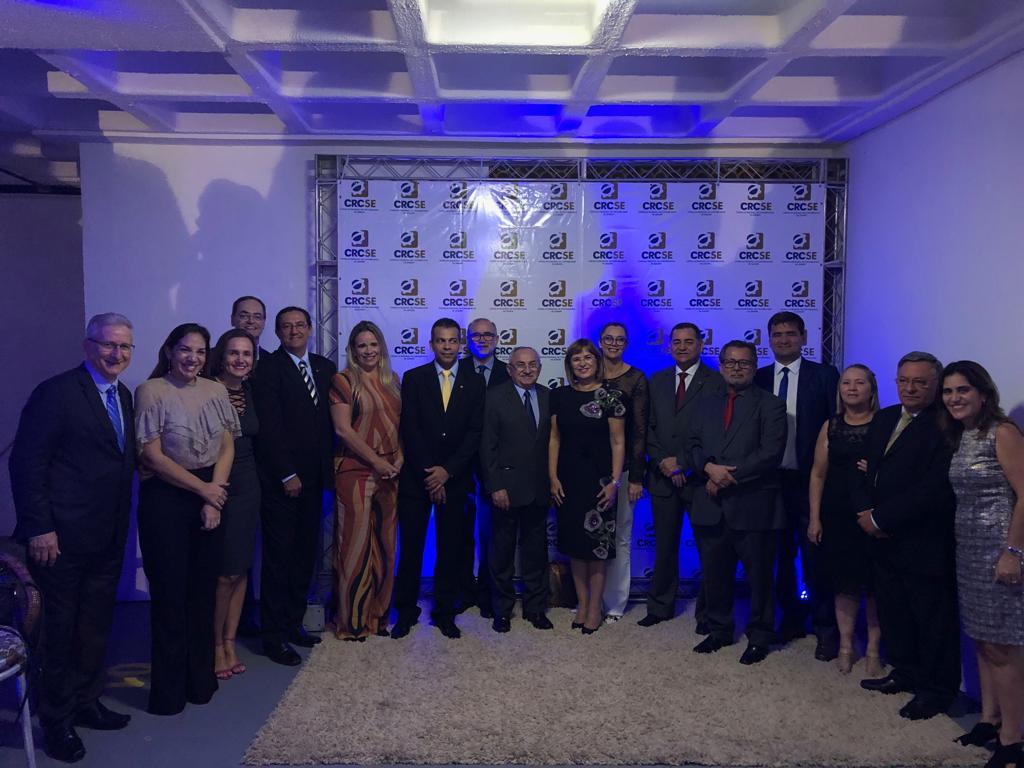 Presidente e Conselheiros do CRCAL participam da reinauguração da sede do CRCSE e Fórum Sergipano de Controle Interno