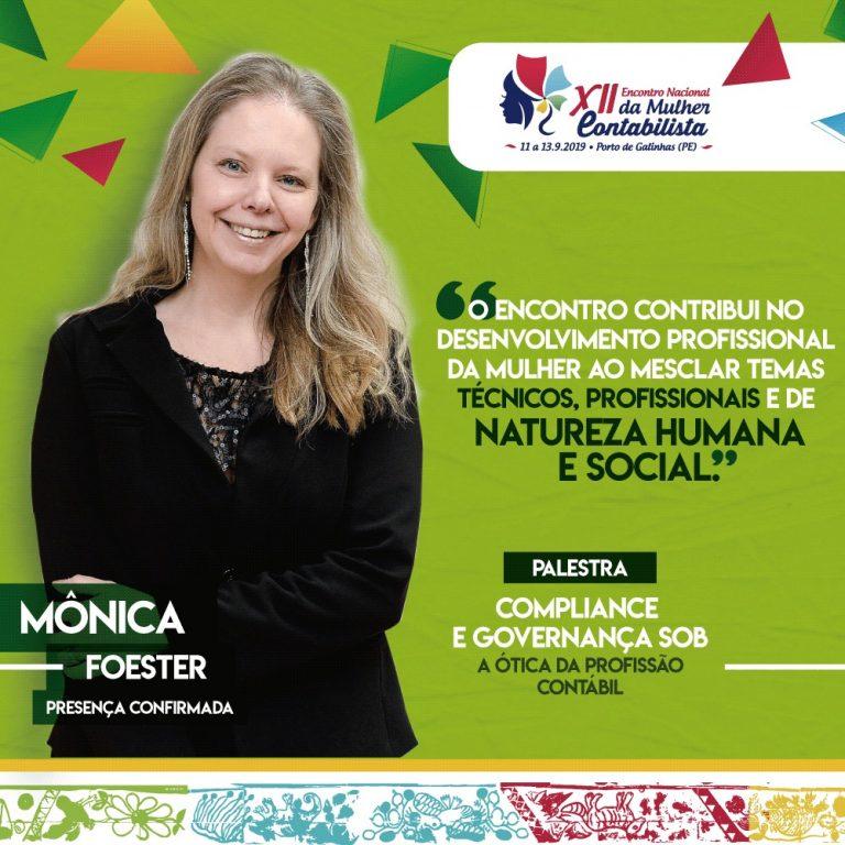 Experiência internacional: conheça Monica Foerster, uma das presenças confirmadas no XII ENMC