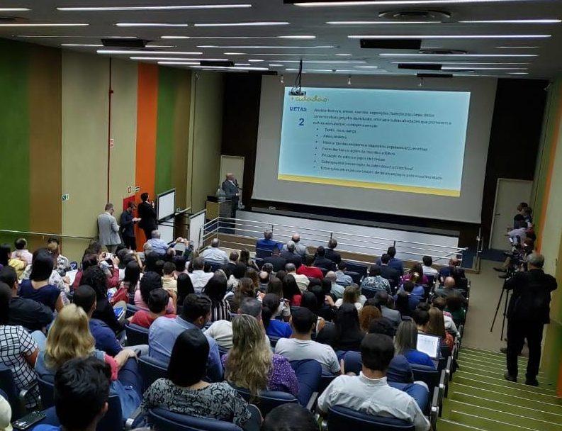 Presidente do CRCAL participa do lançamento do projeto Município + Cidadão em Maceió, representando o CFC